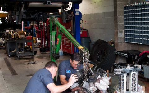 Engine Rebuilt